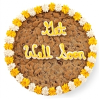 Get Well Big Cookie Cake
