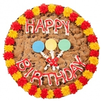 Birthday Big Cookie Cake