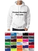 VALUE! Printed Hoodies 50/50 Blend
