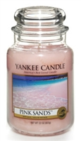 Yankee Candle Pink Sands Classic 22 oz Jar