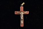 Brown Goldstone Cross With Corps