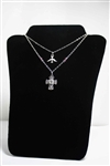 Holy Spirit & 5 Way Cross-Medal Necklace with Swarovski Elements