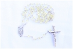 Yellow Crystal Rosary