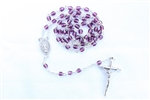 Purple Crystal Rosary