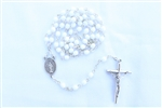 White Crystal Rosary