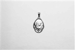 Sterling Silver Pendant with Mother Mary