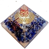 Orgone Large Pyramid -Air Chakra Vibration Frequency 192HZ - for communication & truth
