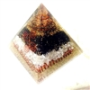 Orgone Extra  Large Pyramid -Love, Grounding & Magnetic -Feng Shui - for grounding & peace