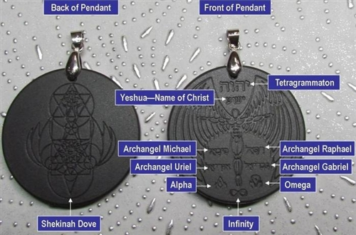 Scalar archangel most powerful pendant energy strength protection aloadofball Images