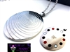 Sterling Silver 24inch Scalar  - Magnetic scalar pendant - LIMITED EDITION