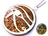 Eye Of Horus Protection Orgonite Pendant -
