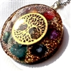 orgone nature tree pendant