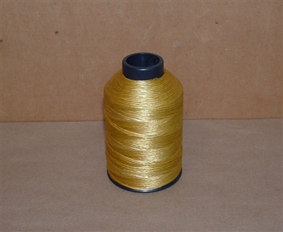 BCY B55 Bowstring 1/4lb Spool - Golden Yellow
