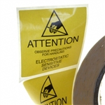 SCS 129LABEL ESD Labels