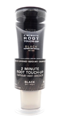 Alterna 2 Minute Root Touch-Up Temporary Root Concealer  Black  1 Fl Oz.