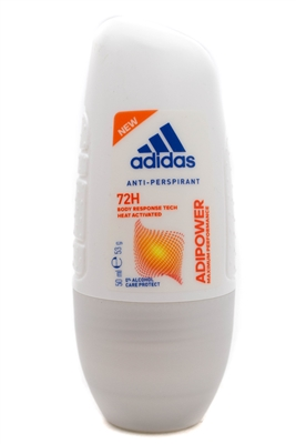Adidas ADIPOWER 72h Roll-On Anti-Perspirant   1.7  fl oz