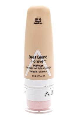 Almay Best Blend Forever Makeup, SPF40, 120 Buff  1 fl oz