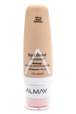 Almay Best Blend Forever Makeup, SPF40, 130 Neutral  1 fl oz