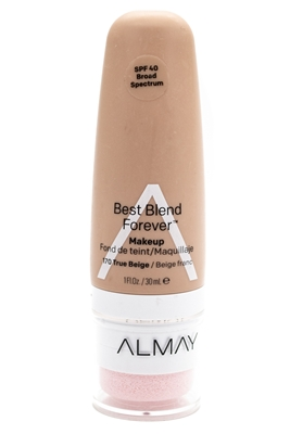 Almay Best Blend Forever Makeup, SPF40, 170 True Beige  1 fl oz