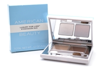 American Beauty Luxury for Lids Eyeshadow Duo;  Honey 'N Spice  .12oz