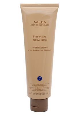 AVEDA Blue Maiva Color Conditioner, Neutralizes Brassy Tones in all Shades of Hair, Brightens Grey Hair,  8.5 fl oz