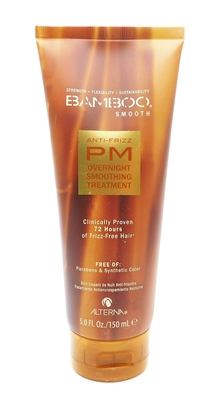 Alterna Bamboo Smooth Anti-Frizz PM Overnight Smoothing Treatment 5 Fl Oz.