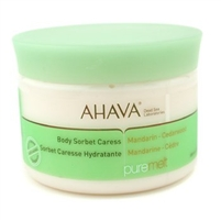 Ahava Body Sorbet Caress Mandarin-Cedarwood 12.3 Oz