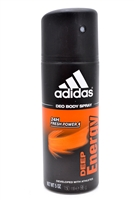 Adidas Deep Energy Deo Body Spray  5oz