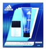 Adidas Moves Him 2 Pc Set: Eau de Toilette .5 Fl Oz., pH Balanced Hair & Body Wash 2.5 Fl Oz.