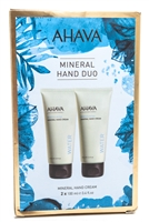 AHAVA Elements of Love Mineral Hand Cream Duo with Active Dead Sea Minerals  2x 3.4 fl oz