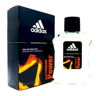 adidas Extreme Power Eau De Toilette Natural Spray 3.4 Fl Oz.