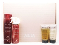 Alterna Haircare Bamboo Volume Kit: Abundant Volume Shampoo 1.35 Fl Oz., Abundant Volume Conditioner 1.35 Fl Oz., 48-Hour Sustainable Volume Spray 4.2 Fl Oz., Uplifting Hair Spray 2.2 Oz.