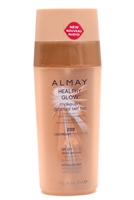 Almay Healthy Glow Makeup + Gradual Self Tan SPF20 200Light/Medium   1 fl oz
