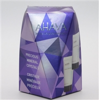 AHAVA Precious Mineral Crystals set: Hand Cream & Body Lotion 1.7 Oz Each