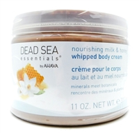 AHAVA Nourishing Milk & Honey Whipped Body Cream 11 Oz