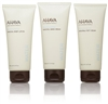 AHAVA Precious Mineral Stars Set: Dead Sea Water Lotion, Hand & Foot Cream 3.4 Oz Ea