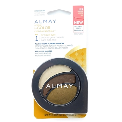 Almay Intense i-Color Everyday Neutrals NO.1 for hazel eyes 115 Hazels .2 Oz.