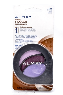 Almay Intense i-Color Party Brights NO.1 for brown eyes 125 .2 Oz.