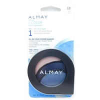 Almay Intense i-Color Party Brights NO.1 for blue eyes 130 Blues .2 Oz.