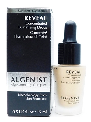 Algenist REVEAL Concentrated Luminizing Drops Champagne .5 Fl Oz.