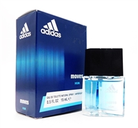 adidas Moves Him Eau De Toilette Natural Spray .5 Fl Oz.