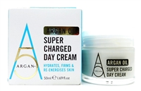 Argan + Argan Oil Super Charged Day Cream 1.69 Fl Oz.