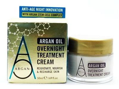 Argan + Argan Oil Overnight Treatment Cream 1.69 Fl Oz.