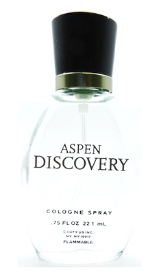 Aspen Discovery  Cologne .75 Fl Oz. (New, No Box)