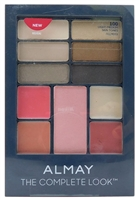 Almay The Complete Look 100 Light/Medium: Shadow .04 Oz., Blush .13 Oz., Lipstick .03 Oz., Lip Gloss .03 Oz.