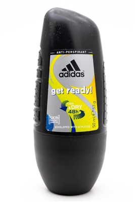 Adidas GET READY 48h Roll-On Anti-Perspirant   1.7  fl oz