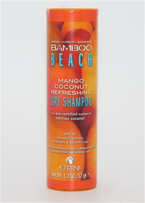 Alterna Bamboo Beach Mango Coconut Refreshing Dry Shampoo 1.3 Oz