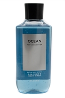 Bath & Body OCEAN Men's Collection Hair & Body Wash  10 fl oz