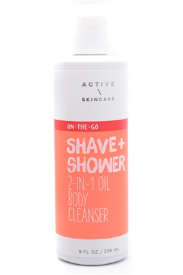 Bath & Body Works Active Skincare Shave+Shower 2-in-1 Oil Body Cleanser  8 fl oz10 fl oz