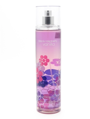 Bath & Body Works Black Raspberry Vanilla Fine Fragrance Mist  8 fl oz